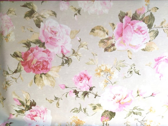 """coupon fabric pattern """"flower"""""""