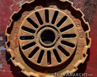 Industrial Gear, Antique Cast Iron
