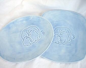 SALE ITEM -- Bailey-ware Dish Set (Sky Blue)