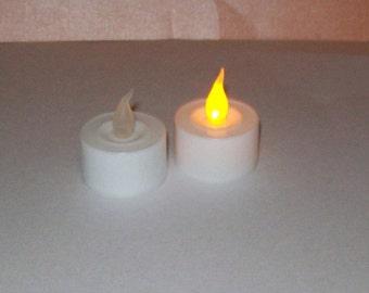 Battery-Operated Tea Lights for use in Luminaries - Lanterns - Luminaria