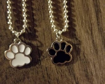 Paws collection (White pawprint)