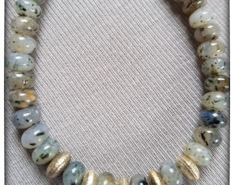 rutilated Quartz-noble shades of gray