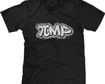 PiMP Mens Short Sleeve T-shirt - Nerd Funny Humor Joke Pie Pimp White Math Geek Gamer-DT-01033