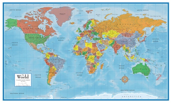24x36 world classic premier 3d wall map poster foam cork board 24x36 world classic premier 3d wall map poster foam cork board mounted and laminated push pin travel map with 100 free push pins gumiabroncs Image collections