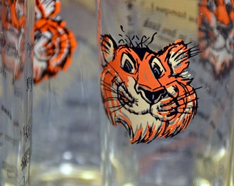 Esso Oil – Tiger in Your Tank Glasses Set of Six