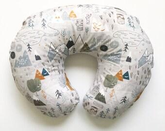 Nursing Pillow Cover Maxs Map. Nursing Pillow. Nursing Pillow Cover. Minky Nursing Pillow Cover. Woodland Nursing Pillow Cover.