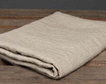 Eco Linen Bed Sheet, Linen Bedding, Linen Flat Sheet, Natural Linen Bed Sheet, Organic Grey Linen Sheet