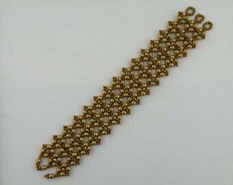 Beading Tutorial - Baroque Bracelet
