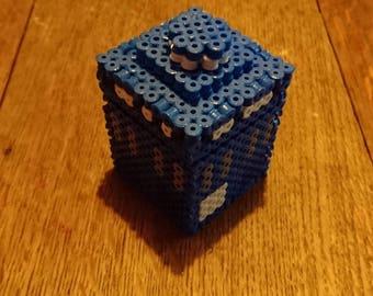 Doctor Who Tardis inspired engagement ring box