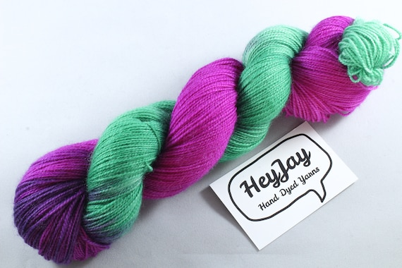 Ultimate Sock Yarn, BFL High Twist - Cherry Tree