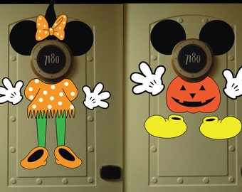 Minnie & Mickey Mouse Door Decor * Disney Cruise Door
