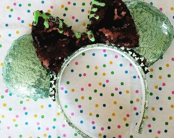Mint Chocolate Chip Sundae Ears