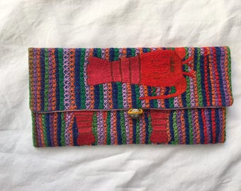 Long Purse with Malagasy Design