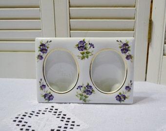 Vintage Ceramic Double Photo Frame Lefton China Purple Flower Design Japan PanchosPorch & Vintage Alvin Precision Drawing Set Drafting Tools Mechanical ...