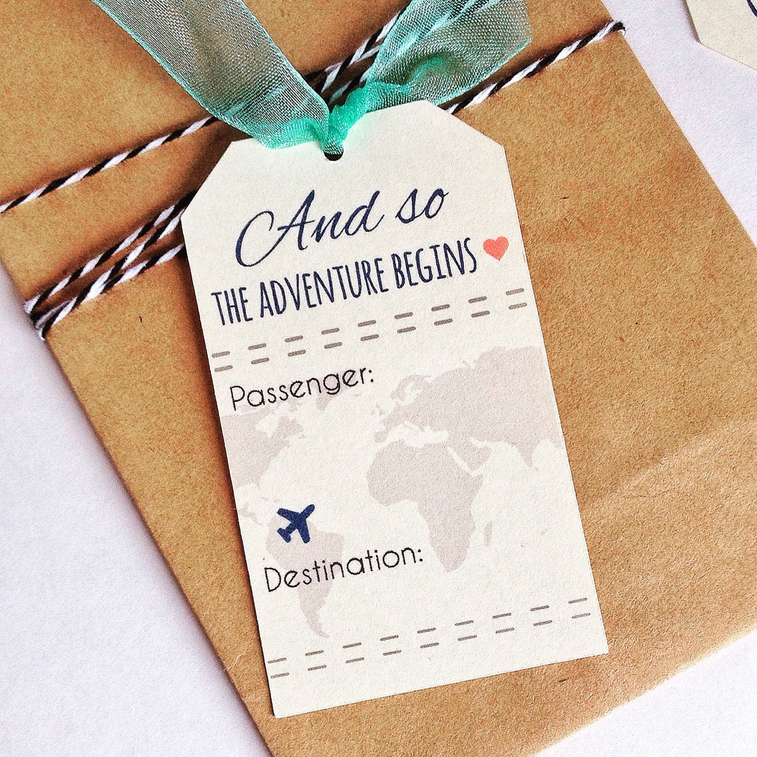 INSTANT DOWNLOAD - Travel Wedding Theme Place Card Favor - Hole ...