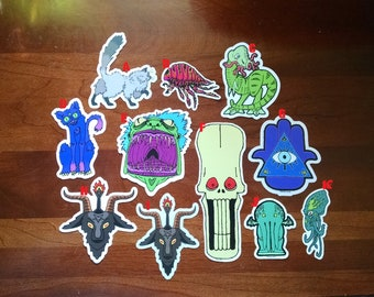 Build your own sticker packs 3, 6, or 9
