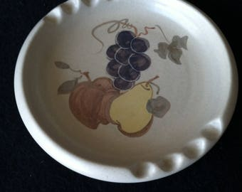 Chatham Pottery Country Harvest Ashtray