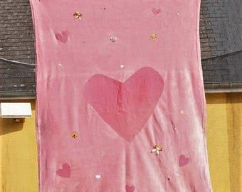 Pink Princess blanket