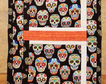 Dia De Los Muertos/Day of the Dead Quilted Table Runner