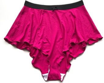 Hot Pink High Waisted French Knickers