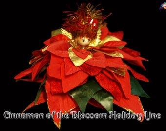 Cinnamon of the Blossom Holiday Line, Fairy, Faerie, OOAK, Doll