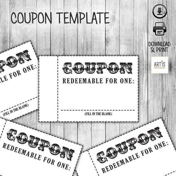 Coupon book coupon for game empty love coupon date diy for Coupon book for husband template