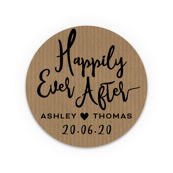 Custom wine labels, Personalized stickers, Wedding favours, Guest wedding favors, Rustic wedding favors, Labels for jars, Happily ever after