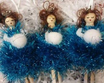 Beautiful peg dolls