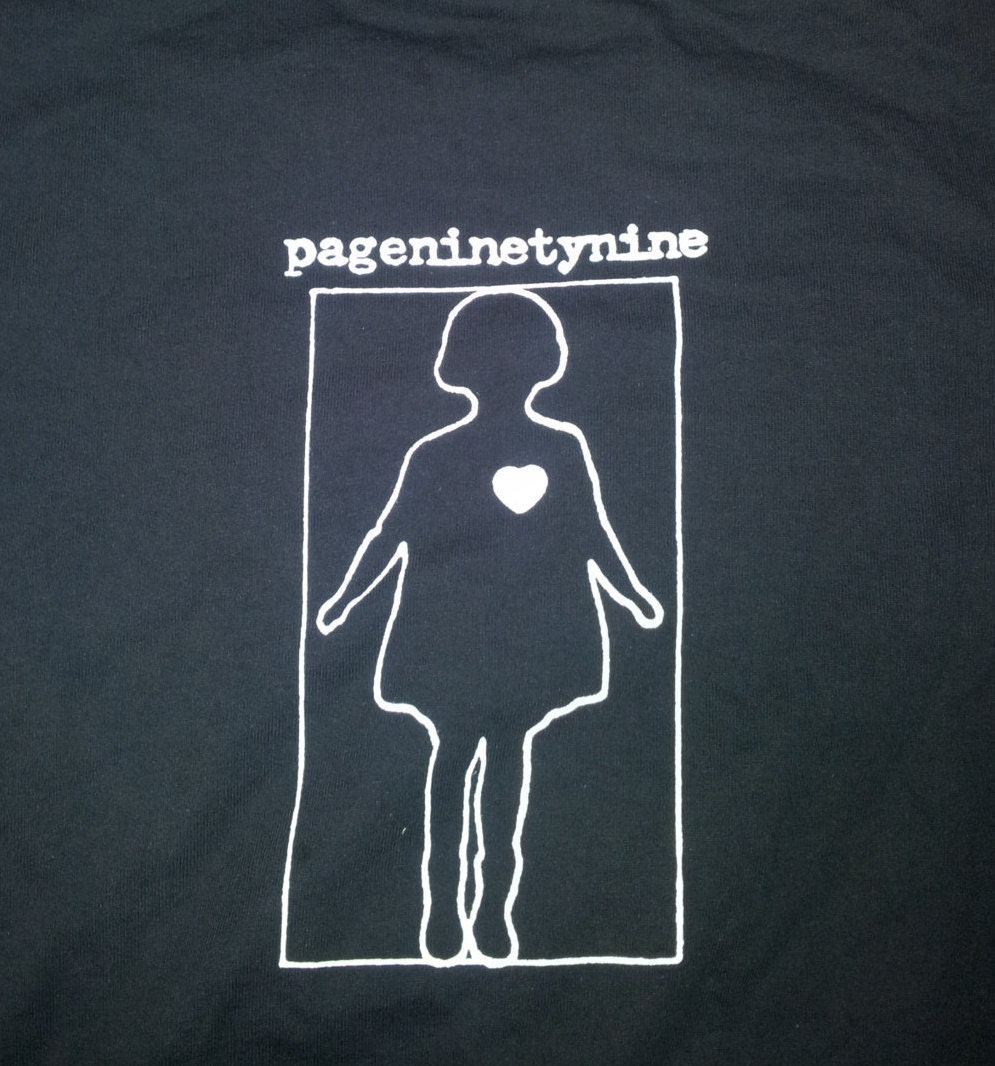 PAGENINETYNINE pg.99 t-shirt screamo band