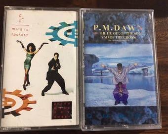 C + C Music Factory / P.M. Dawn Cassette Tape Set