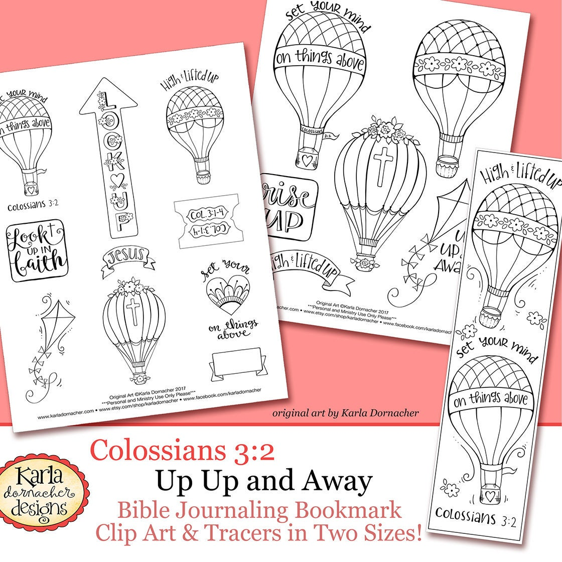 Color Your Own Bookmarks Bible Journaling Art Tracers