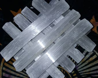 Natural Selenite Wand