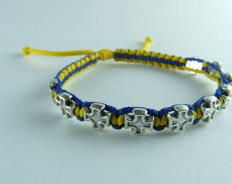 Faith Blessing Cross bracelet , catholic bracelet, christian bracelet, cross bracelet, catholic gift