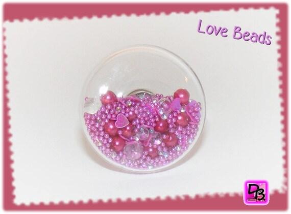 Bague globe [Love Beads]