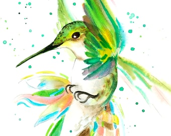 Hummingbird Print - A.