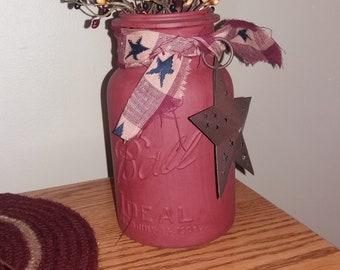 Vintage mason jar