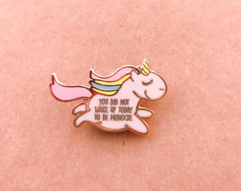 Unapologetic Unicorn Enamel Pin