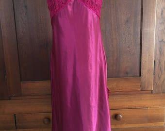 M / Dark Pink/ Night Gown medium
