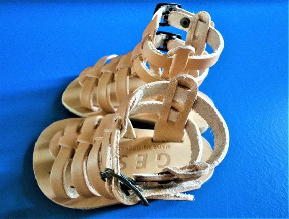 Grecian Sandals Baby Sandals Kids Greek Ancient Leather Baby Sandals Girl Light Sandals Sandals Boy Leather Sandals Genuine Brown qSwxzar5vS