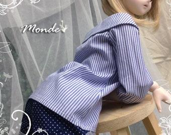 BJD SD DD 1/3 Blue Shorts - ONB130856SIBLU