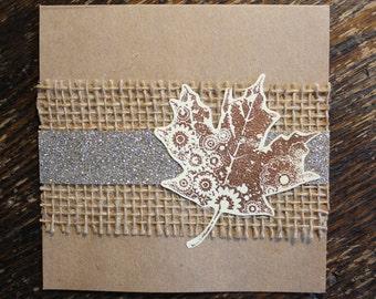 Autumn I Card