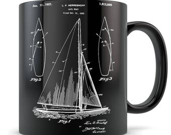 Sailing Gift, sailing mug, sailing gift for men, sailing gift for women, sailing themed gift, sail gift, sailboat gift, sailboat mug, sail