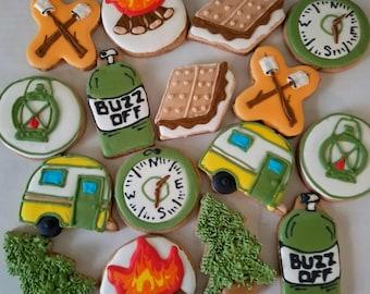 Camping cookies (12)