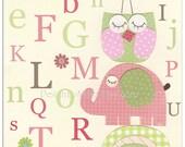 Owl Nursery Art Print  Nu...