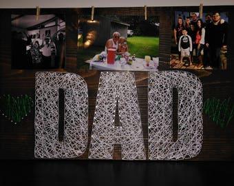 Dad String Art