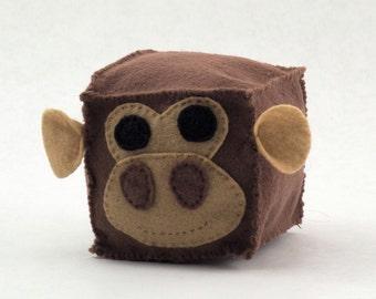 Monkey Plush Animal Block