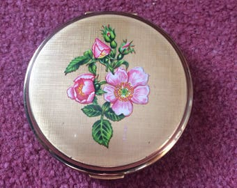 1960s Stratton powder compact and mirror