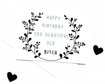 Funny birthday card- Mature 30th birthday card-BFF card-girlfriend birthday-older sister card- card for friend
