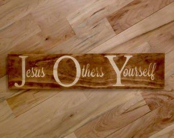 JOY - Jesus, Others, Yourself Wall Art
