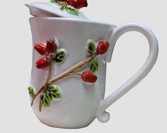 Lovely  ceramic cup, hand made, Ceramics and pottery, Tea cup, Coffee cup, Tea Mug, Pottery Mug,